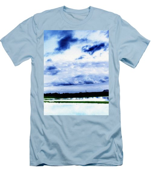 In The Blue Men's T-Shirt (Athletic Fit)