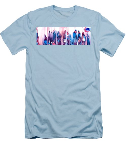 In The Land Of The Lost Elephants Men's T-Shirt (Slim Fit) by Sir Josef - Social Critic -  Maha Art