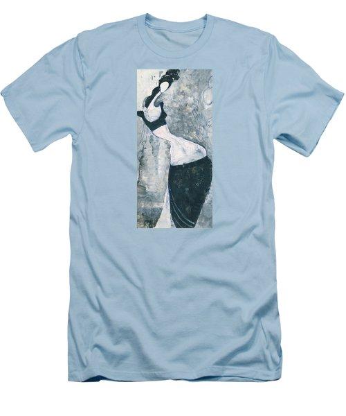 Indian Lady Men's T-Shirt (Athletic Fit)