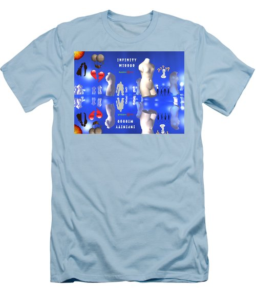 Infinity Mirror Men's T-Shirt (Athletic Fit)