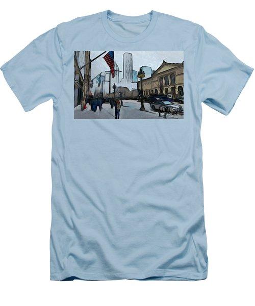 Infrastruction Meltdown Men's T-Shirt (Athletic Fit)