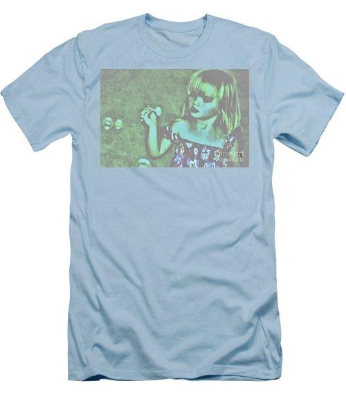 Men's T-Shirt (Slim Fit) featuring the photograph Innocence by Marsha Heiken