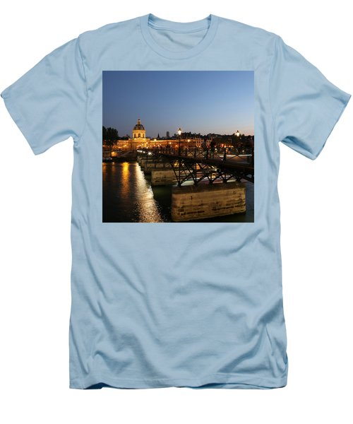 Men's T-Shirt (Slim Fit) featuring the photograph Institute Of France by Andrew Fare