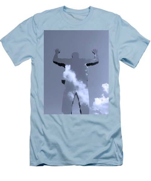 Men's T-Shirt (Slim Fit) featuring the photograph Invisible ... by Juergen Weiss