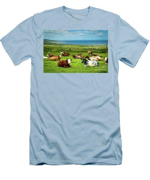 Ireland - Westcoast Men's T-Shirt (Slim Fit) by Juergen Klust