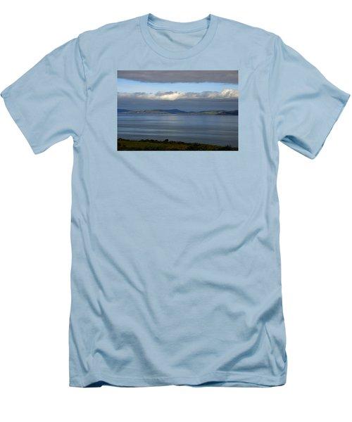 Irish Sky - Ring Of Kerry, Dingle Bay Men's T-Shirt (Athletic Fit)