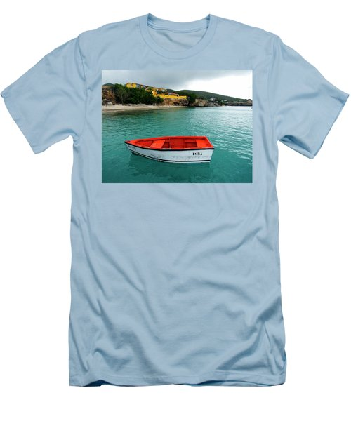 Men's T-Shirt (Slim Fit) featuring the photograph Isha by Kurt Van Wagner