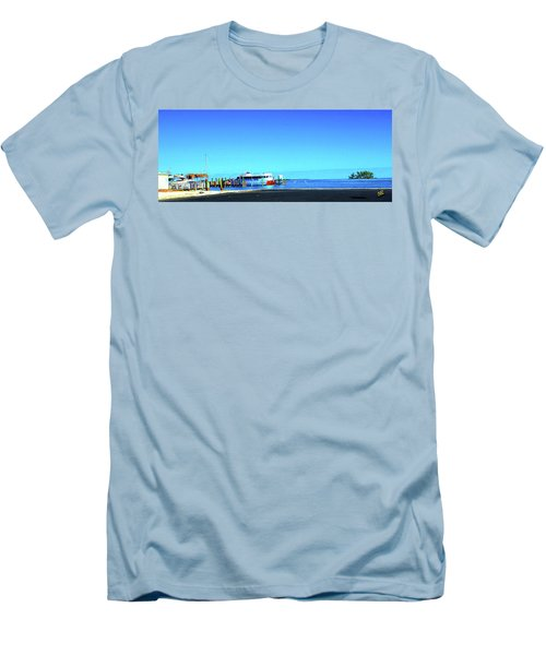 Island Dock Men's T-Shirt (Athletic Fit)