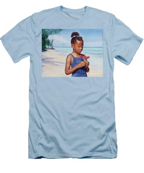 Island Flowers Men's T-Shirt (Athletic Fit)