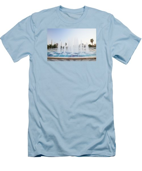 Men's T-Shirt (Slim Fit) featuring the photograph Istanbul City Center I by Yuri Santin