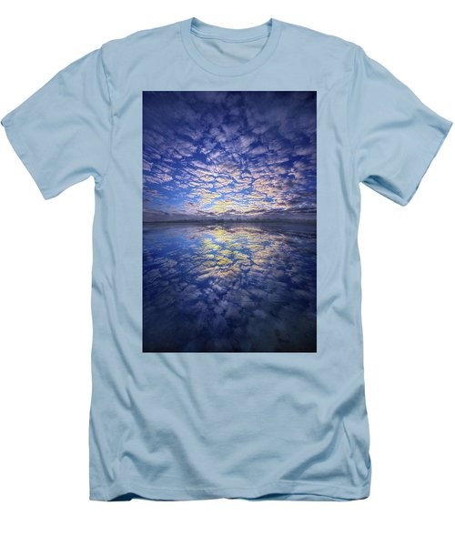 Men's T-Shirt (Slim Fit) featuring the photograph It Was Your Song by Phil Koch