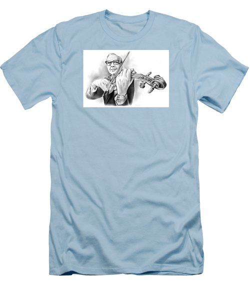 Jack Benny Men's T-Shirt (Slim Fit) by Greg Joens