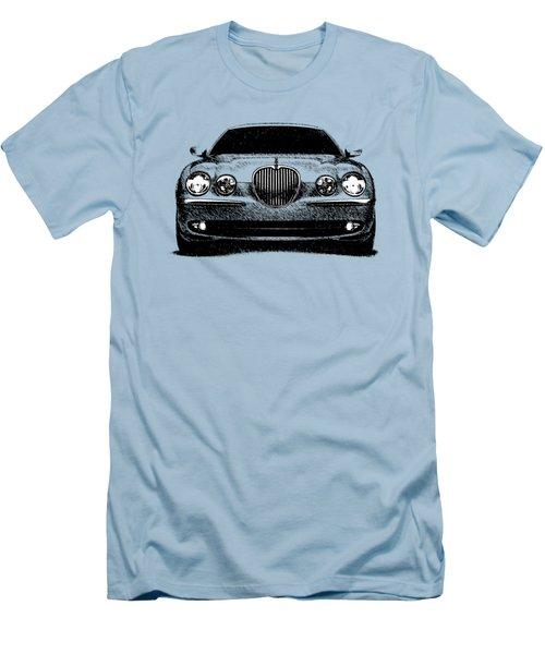 Jaguar S Type Men's T-Shirt (Slim Fit) by Mark Rogan