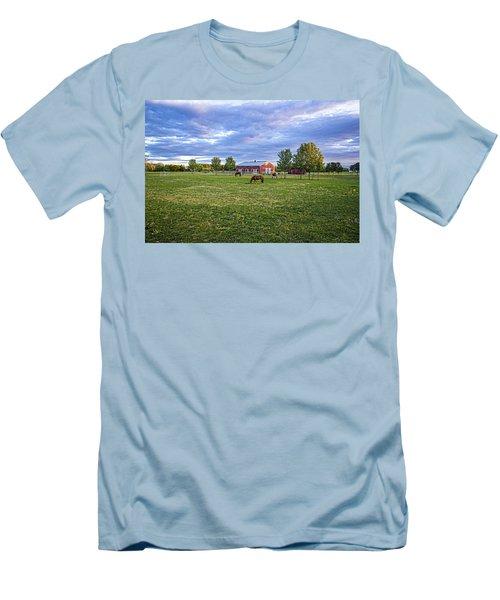 Jamesport Saddle Club Men's T-Shirt (Athletic Fit)