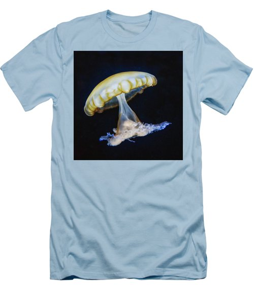 Men's T-Shirt (Slim Fit) featuring the photograph Jellyfish No. 1 by Alan Toepfer