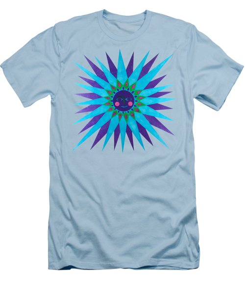 Jeweled Sun Men's T-Shirt (Athletic Fit)