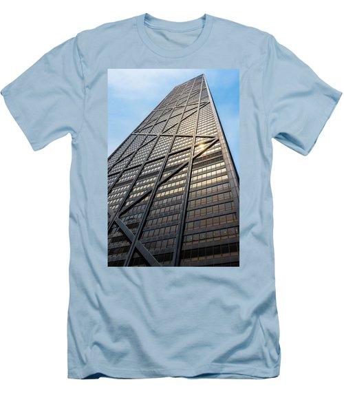 John Hancock Center Chicago Men's T-Shirt (Slim Fit)