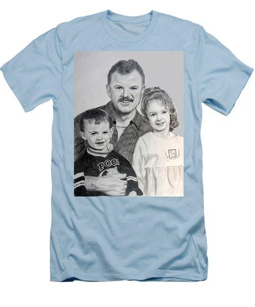 John Megan And Joey Men's T-Shirt (Slim Fit) by Stan Hamilton