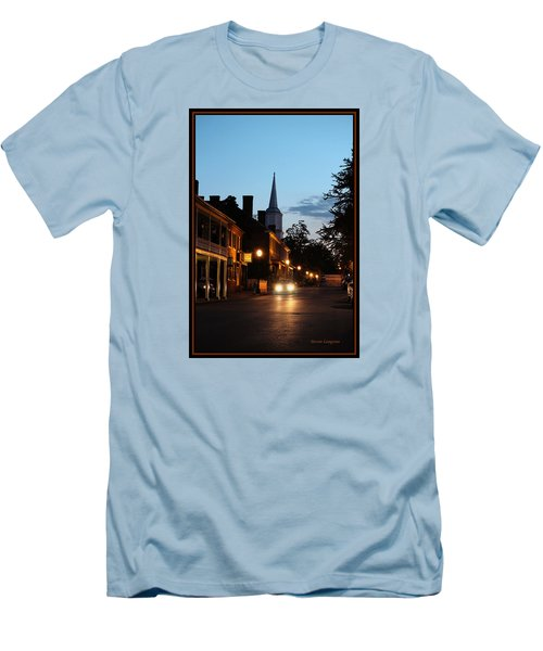 Jonesborough Tennessee 10 Men's T-Shirt (Slim Fit) by Steven Lebron Langston