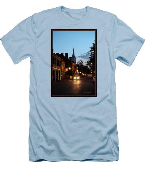 Men's T-Shirt (Slim Fit) featuring the photograph Jonesborough Tennessee 10 by Steven Lebron Langston