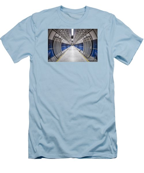 Journey To The Center Of Your Mind Men's T-Shirt (Slim Fit) by Evelina Kremsdorf