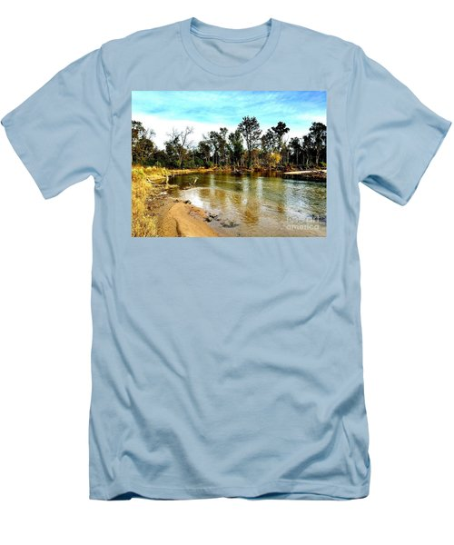 Journey To The Rivers Bend Men's T-Shirt (Athletic Fit)