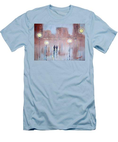 Joyful Bliss Men's T-Shirt (Slim Fit) by Raymond Doward