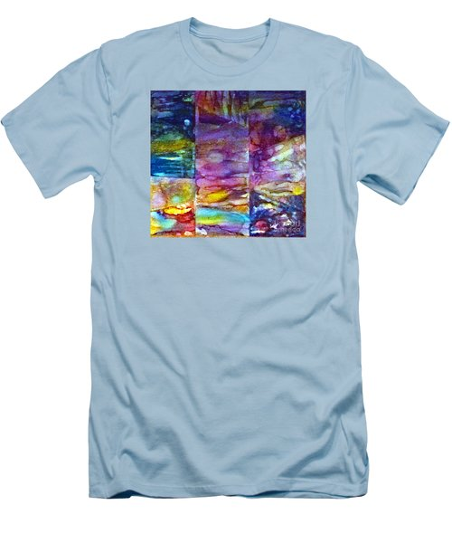 Jubilation Men's T-Shirt (Slim Fit) by Alene Sirott-Cope