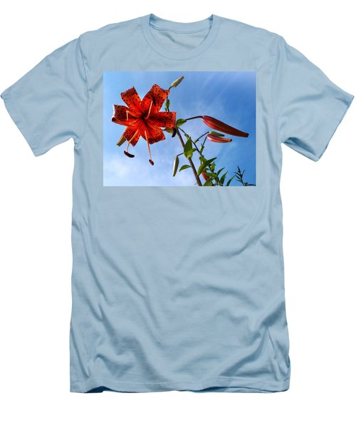 Men's T-Shirt (Slim Fit) featuring the photograph July by Joy Nichols