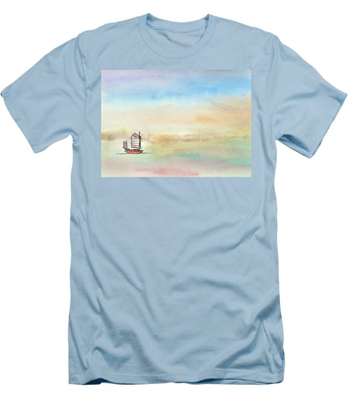 Junk Sailing Men's T-Shirt (Slim Fit) by R Kyllo