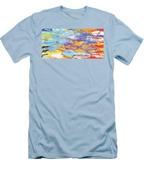 Kaleidoscope Men's T-Shirt (Slim Fit) by Ralph White