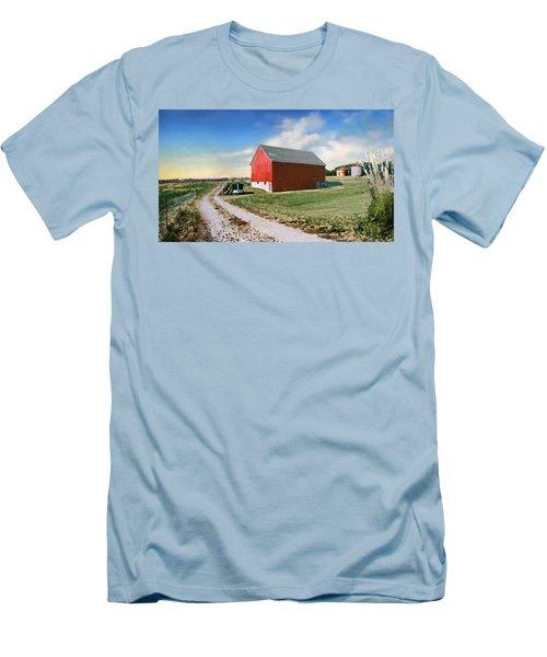 Kansas Landscape II Men's T-Shirt (Athletic Fit)