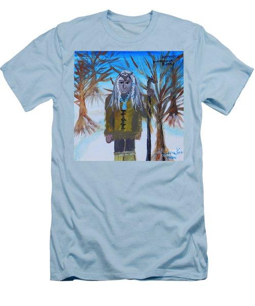 Katanka Protector Of Buffalo Men's T-Shirt (Athletic Fit)