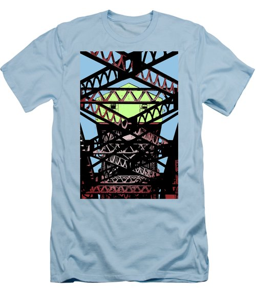 Katy Trail Bridge Men's T-Shirt (Slim Fit) by Christopher McKenzie