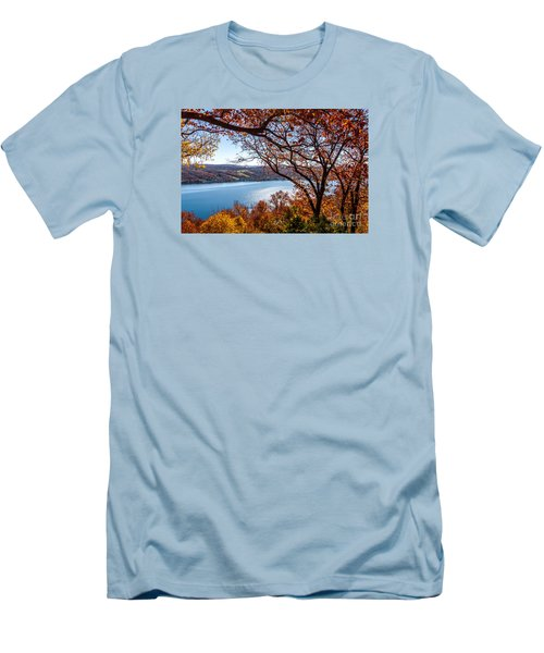 Keuka Lake Vista Men's T-Shirt (Athletic Fit)