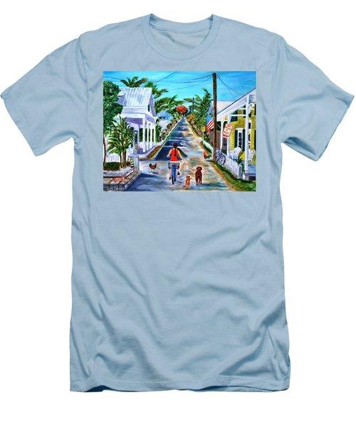 Key West Lane Men's T-Shirt (Athletic Fit)