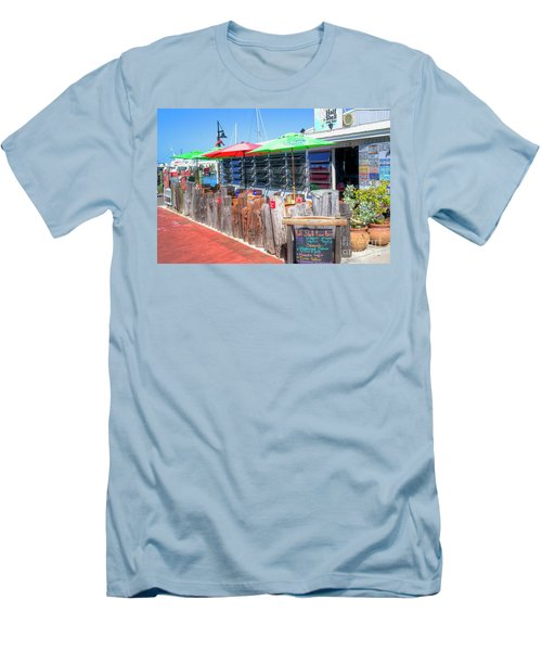 Key West Raw Bar Men's T-Shirt (Athletic Fit)