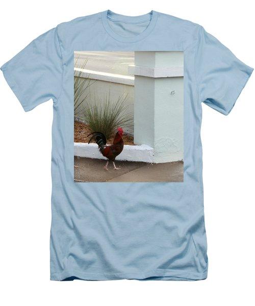 Key West Street Walker Men's T-Shirt (Athletic Fit)