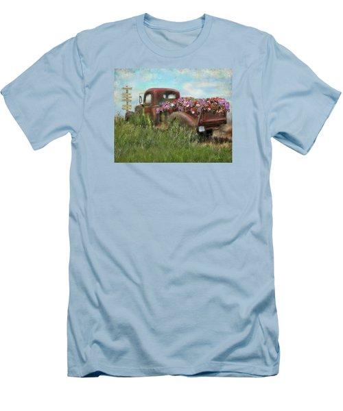Kicks On Route 66 Men's T-Shirt (Athletic Fit)