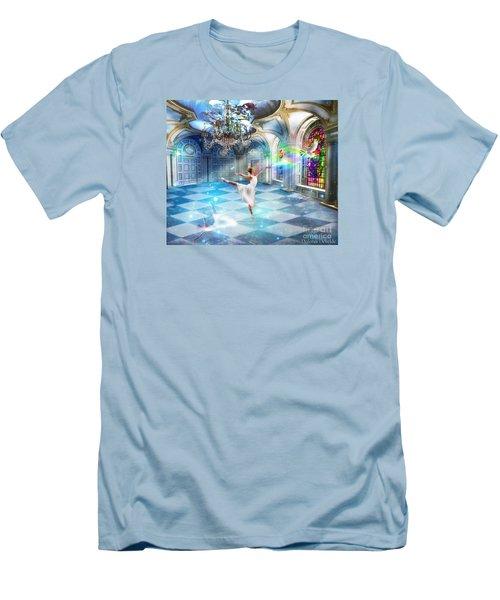 Kingdom Encounter Men's T-Shirt (Slim Fit) by Dolores Develde