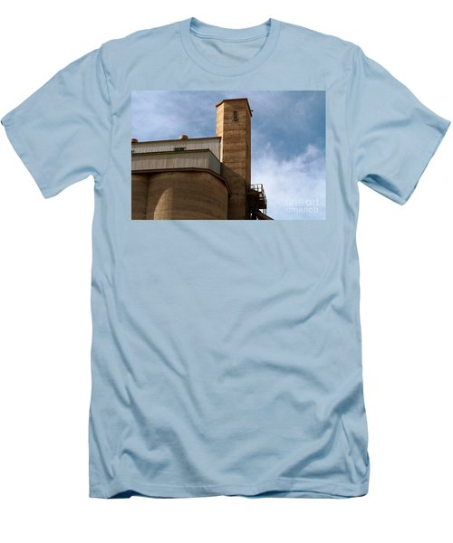 Men's T-Shirt (Athletic Fit) featuring the photograph Kingscote Castle by Stephen Mitchell