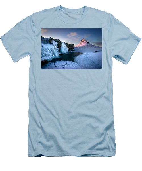 Kirkjufell, Iceland Men's T-Shirt (Athletic Fit)