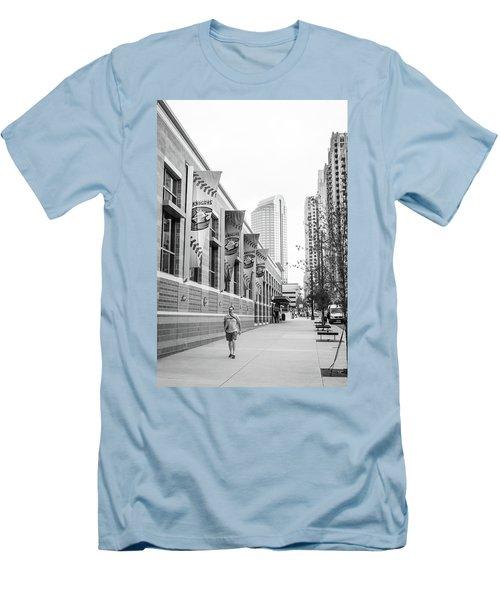 Knights Baseball Stadium Men's T-Shirt (Athletic Fit)