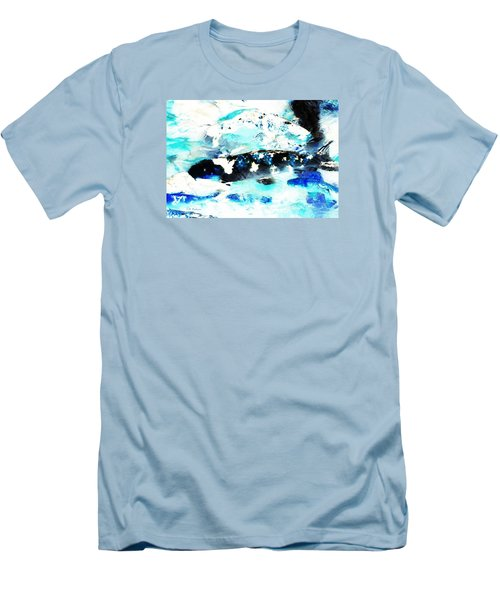 Koi Abstract 2 Men's T-Shirt (Athletic Fit)