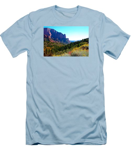 Kolob Canyon Men's T-Shirt (Athletic Fit)