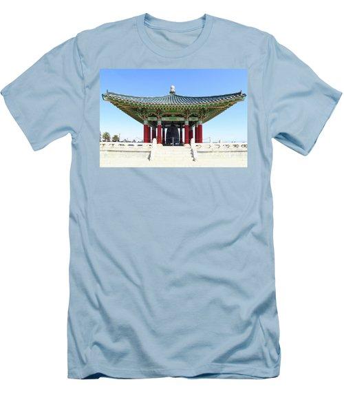 Korean Friendship Bell In Los Angeles Men's T-Shirt (Athletic Fit)