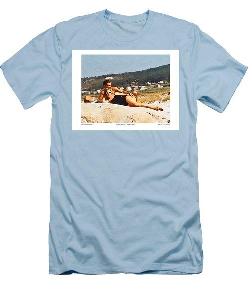 La Vida Dulce,the Sweet Life Men's T-Shirt (Slim Fit) by Kenneth De Tore