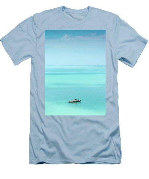 Lake Balaton Men's T-Shirt (Athletic Fit)