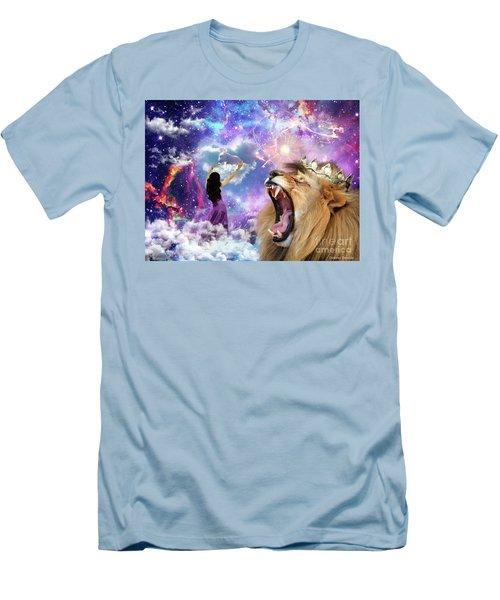 Men's T-Shirt (Slim Fit) featuring the digital art Lamb Of God by Dolores Develde