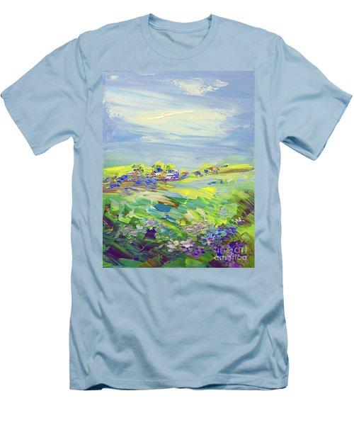 Land Of Milk And Honey Men's T-Shirt (Slim Fit) by Tatiana Iliina